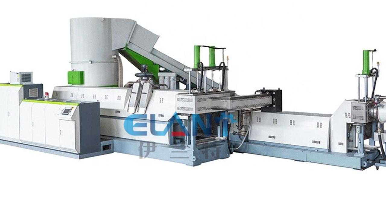 LDPE LLDPE HDPE Film Plastic Pelletizing Machine Supplier