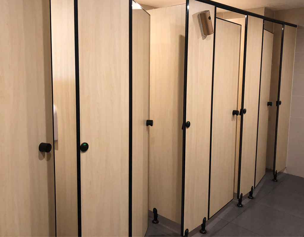 Nylon Toilet Partition System