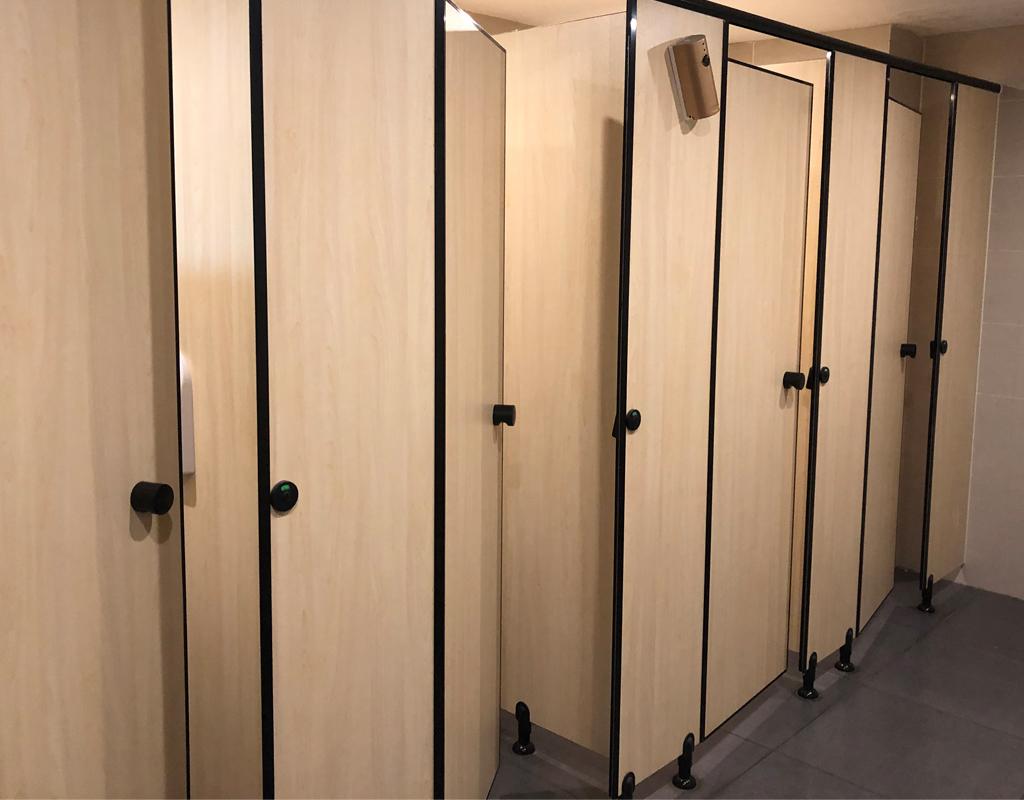 Sistem Partition Toilet Nylon