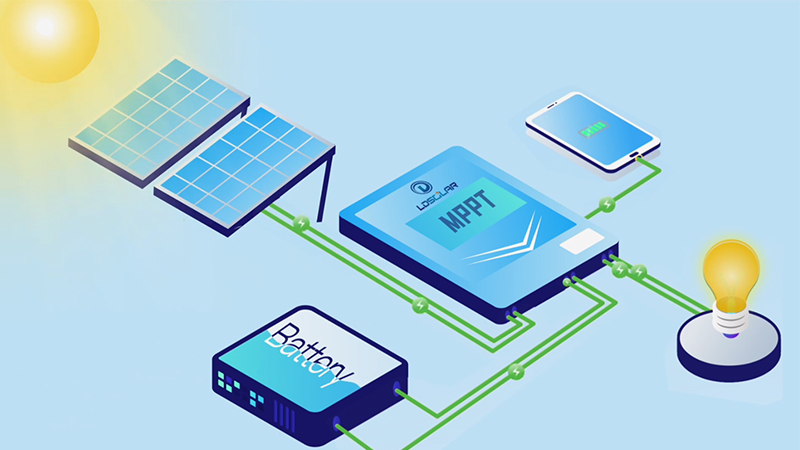 MPPT solar charge controller introduction video