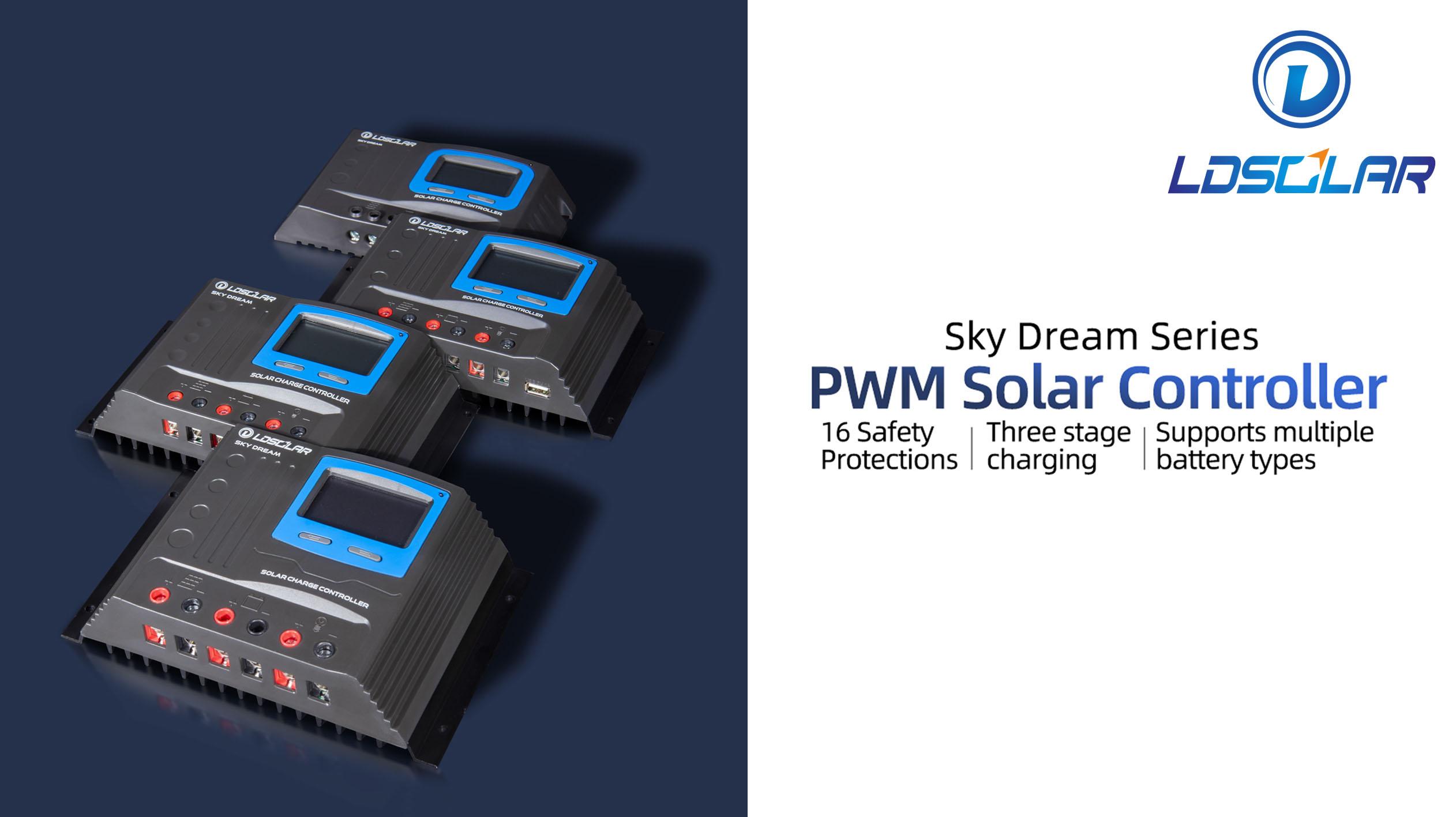 Controlador solar PWM de la serie Sky Dream