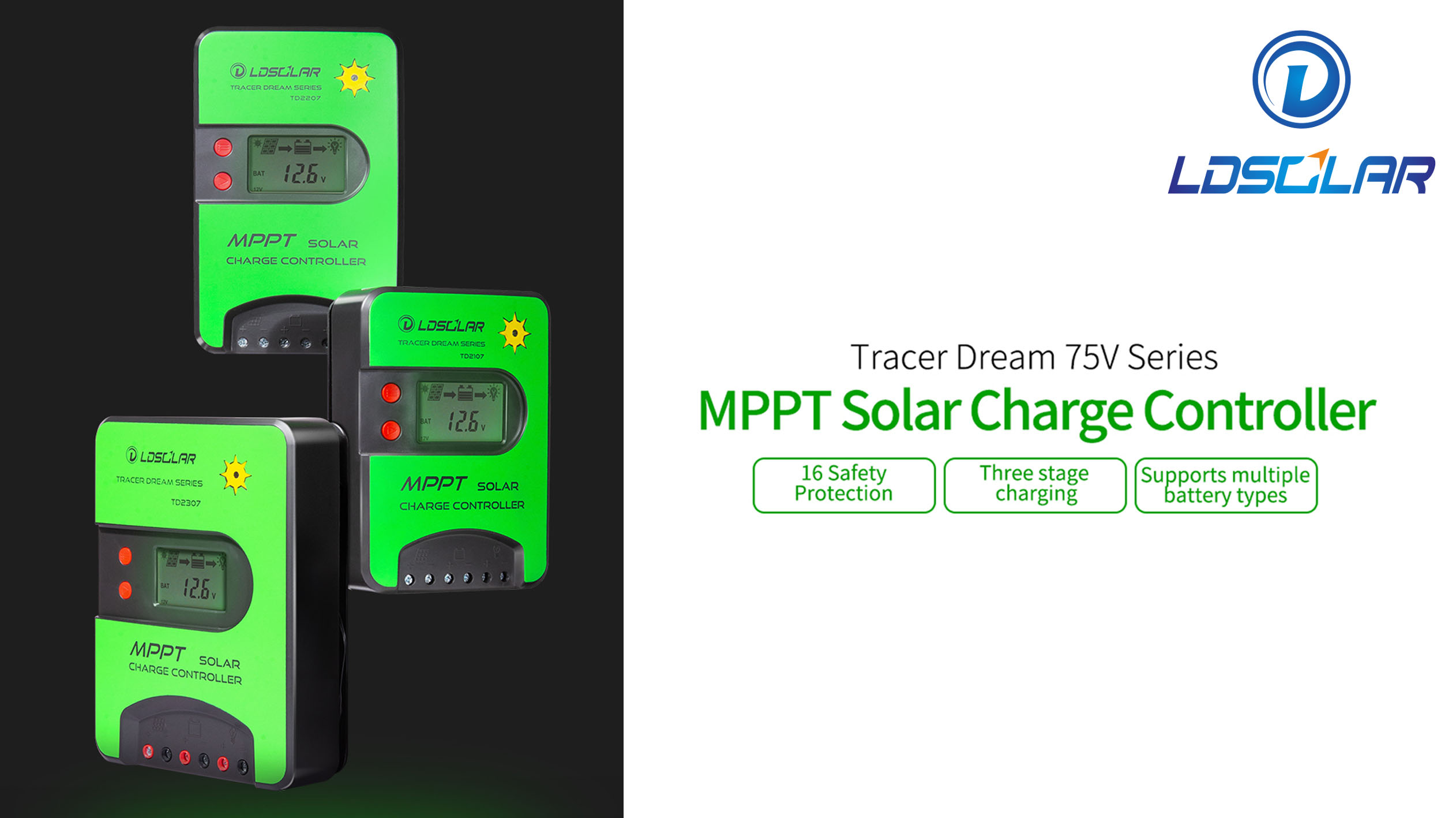 Tracer Dream 75V Series MPPT Solar Charge Controller