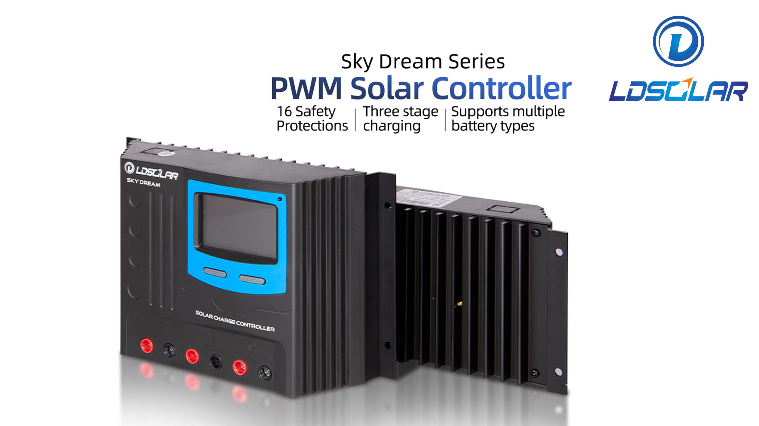 ldsolar Sky Dream series PWM solar charge controller