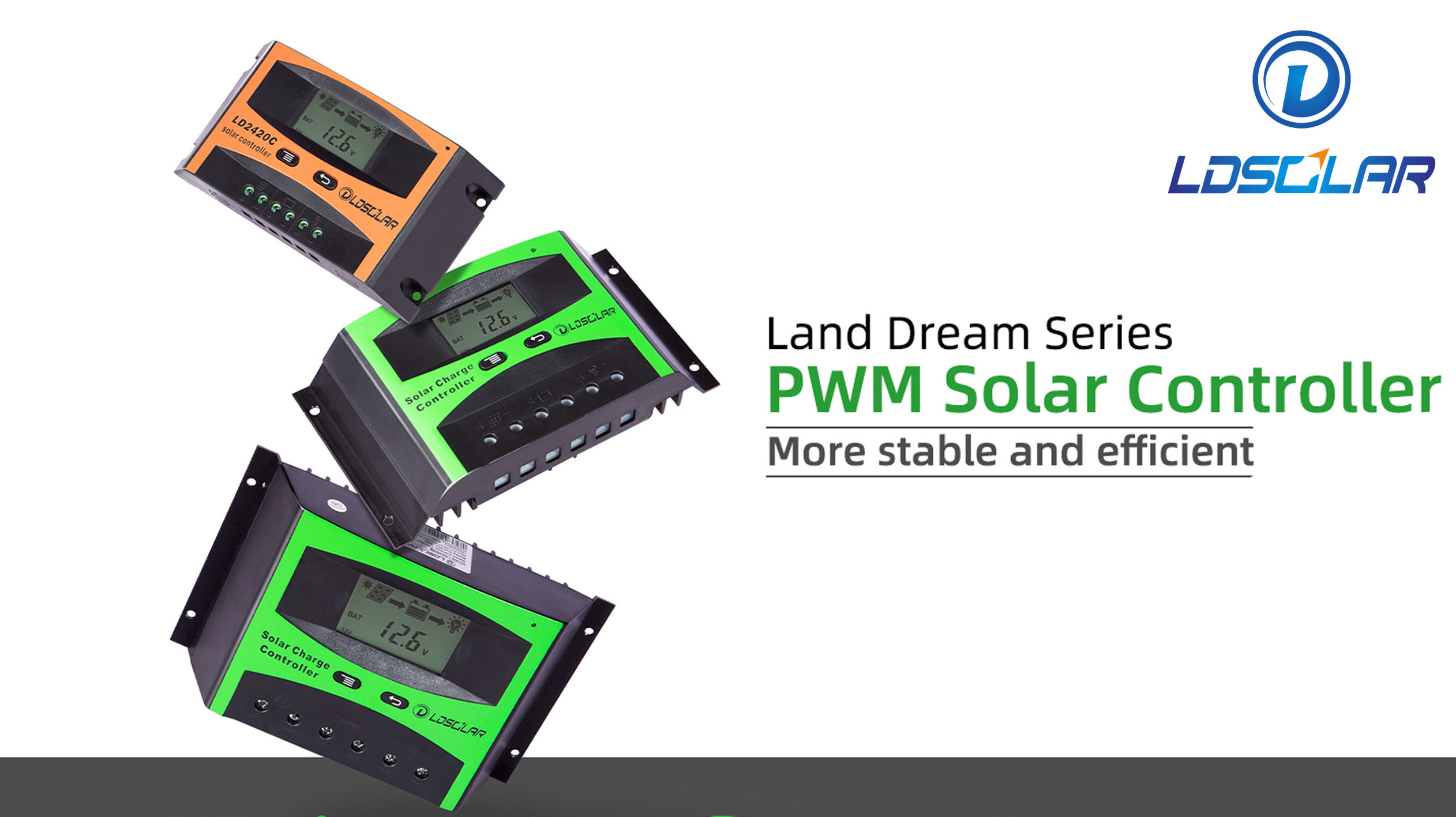 ldsolar 2021 Best Land Dream Series PWM Solar Charge Controller