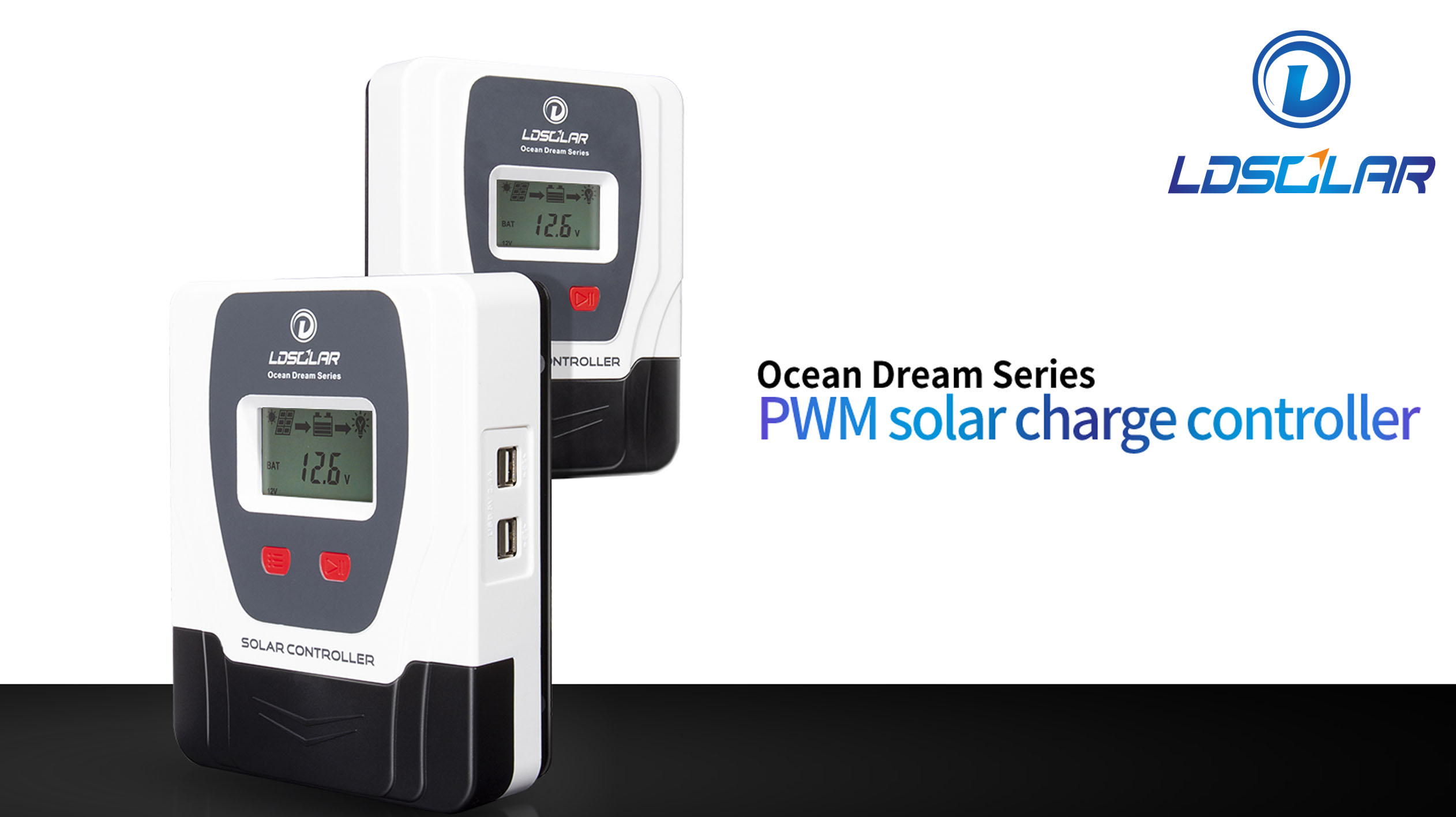 Ocean Dream series PWM solar charge controller