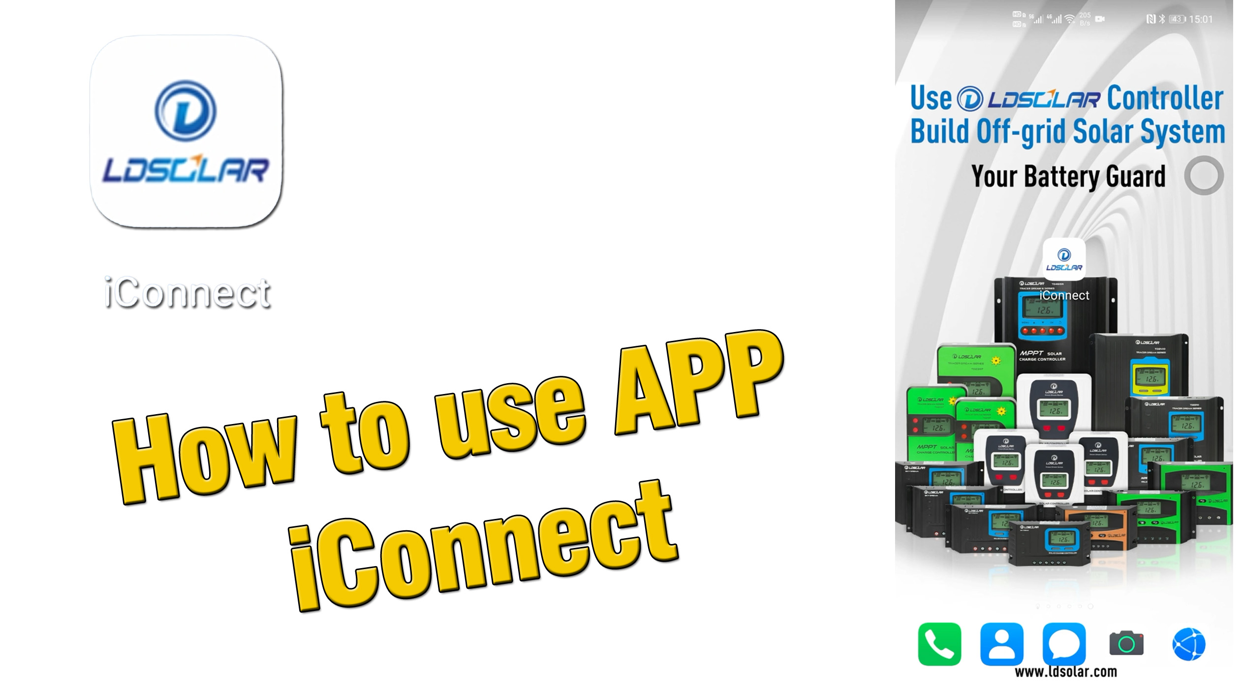 How to use APP iConnect