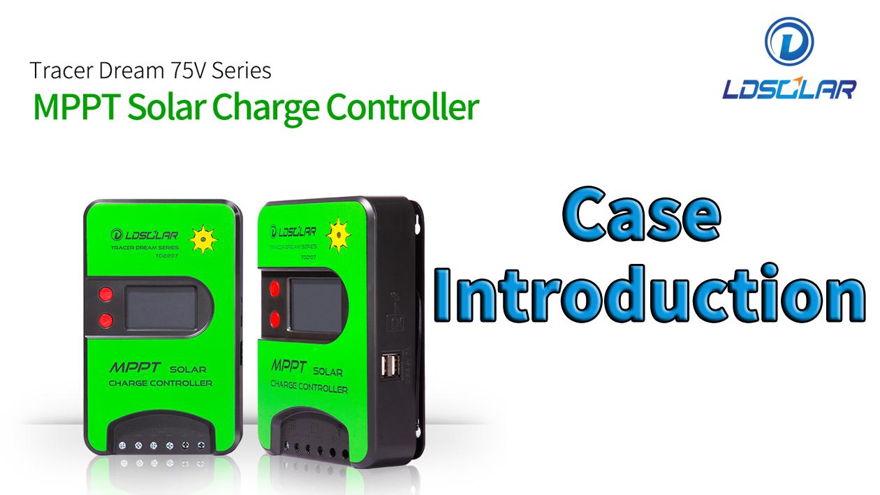 Ldsolar mppt regulator TD75V mttp charge controller manufacturer