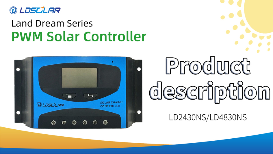 Best PWM solar controller LD2430NS /LD4830NS Factory Price -
