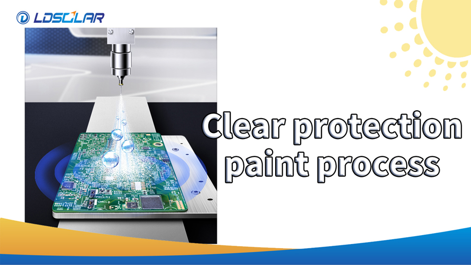 LDSOLAR upgrades the Clear protection paint process for all MPPT controller products