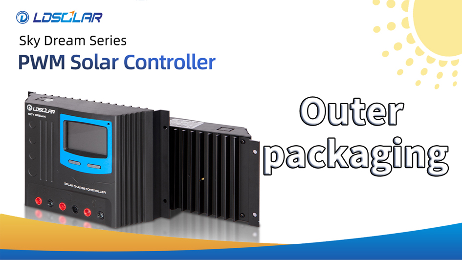 PWM solar controller Sky Dream outer packaging
