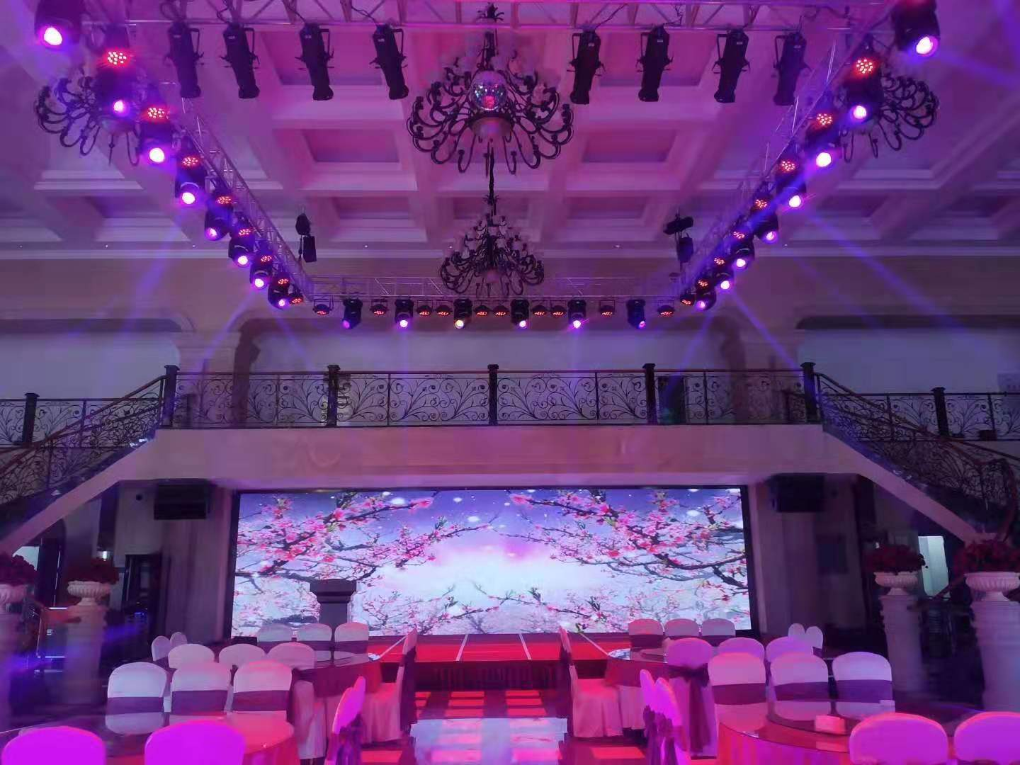 Professional Stage lights used in Alice Manor - Yellow River Lighting Factory