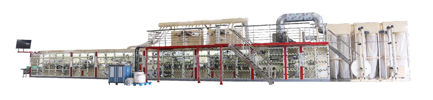 Best Full Automatic Under Pad Machine-JWC Machinery Factory Price - JWC Machinery
