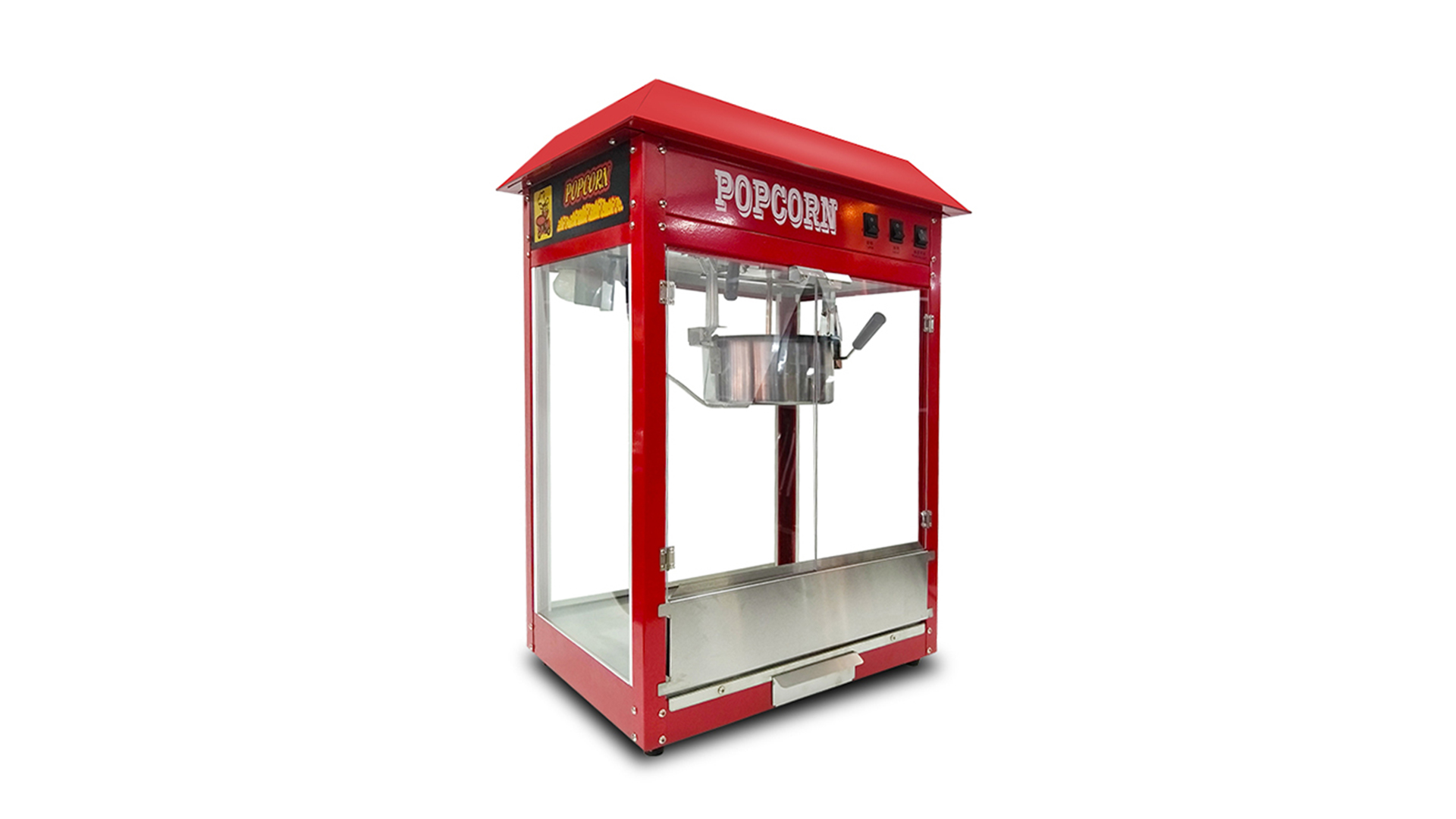 KTV Cinema Price Maker Industrial 16 Oz Automatic Vending Making 32 Oz Flavor Big Popcorn Machine Commercial