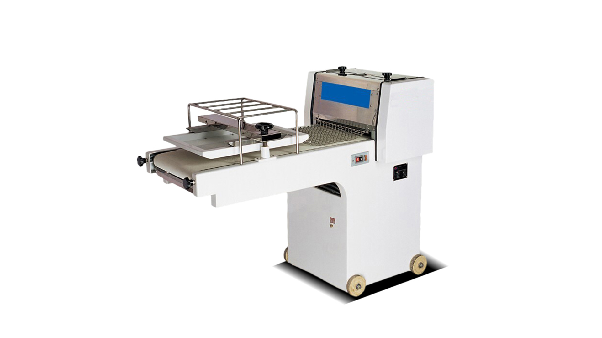 Commercial High speed 380mm toaster moulder/toast shaping machine