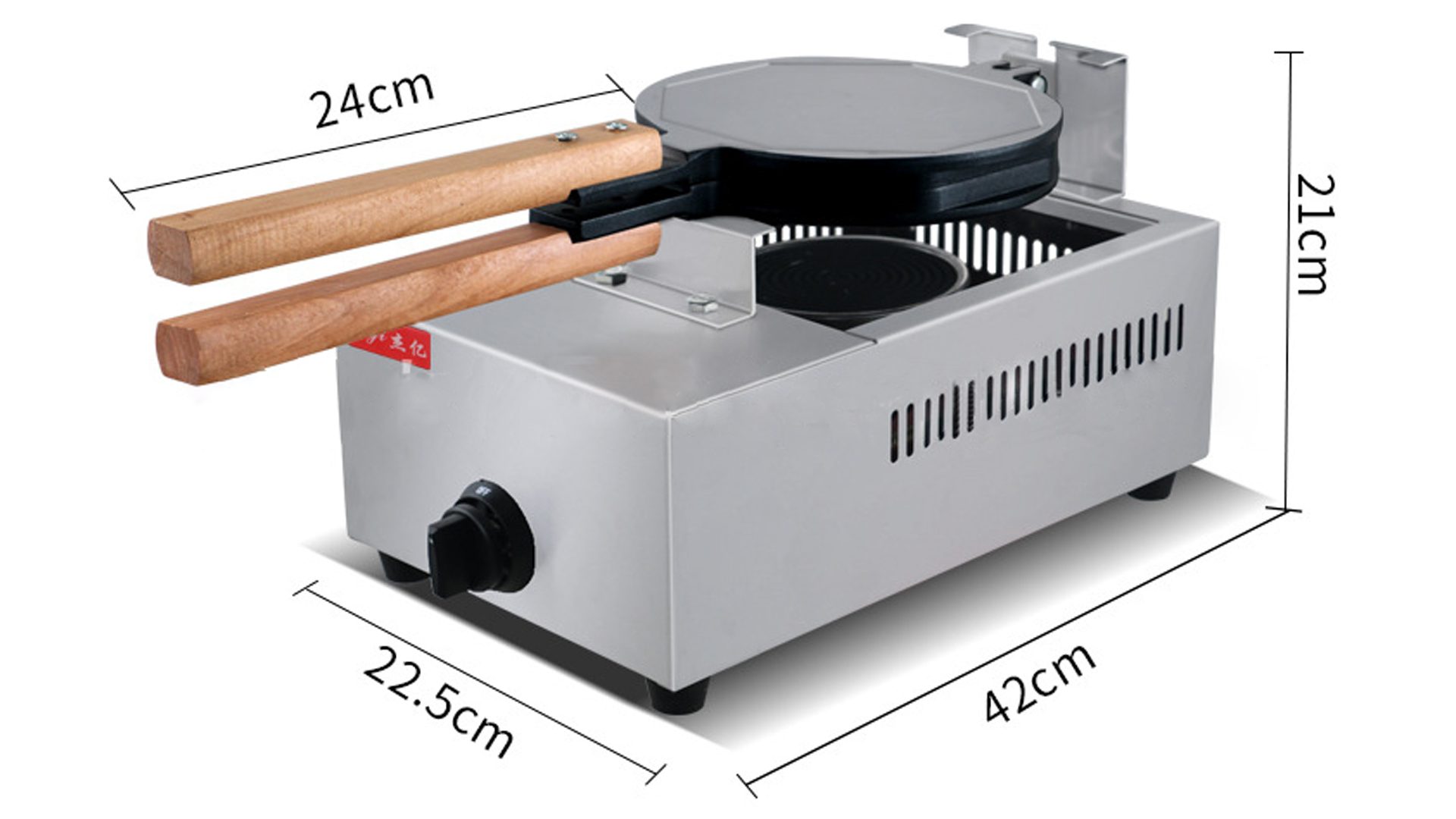 Commercial gas egg waffle maker FY-6A.R Hong Kong QQ egg waffle maker casual snack scones equipment