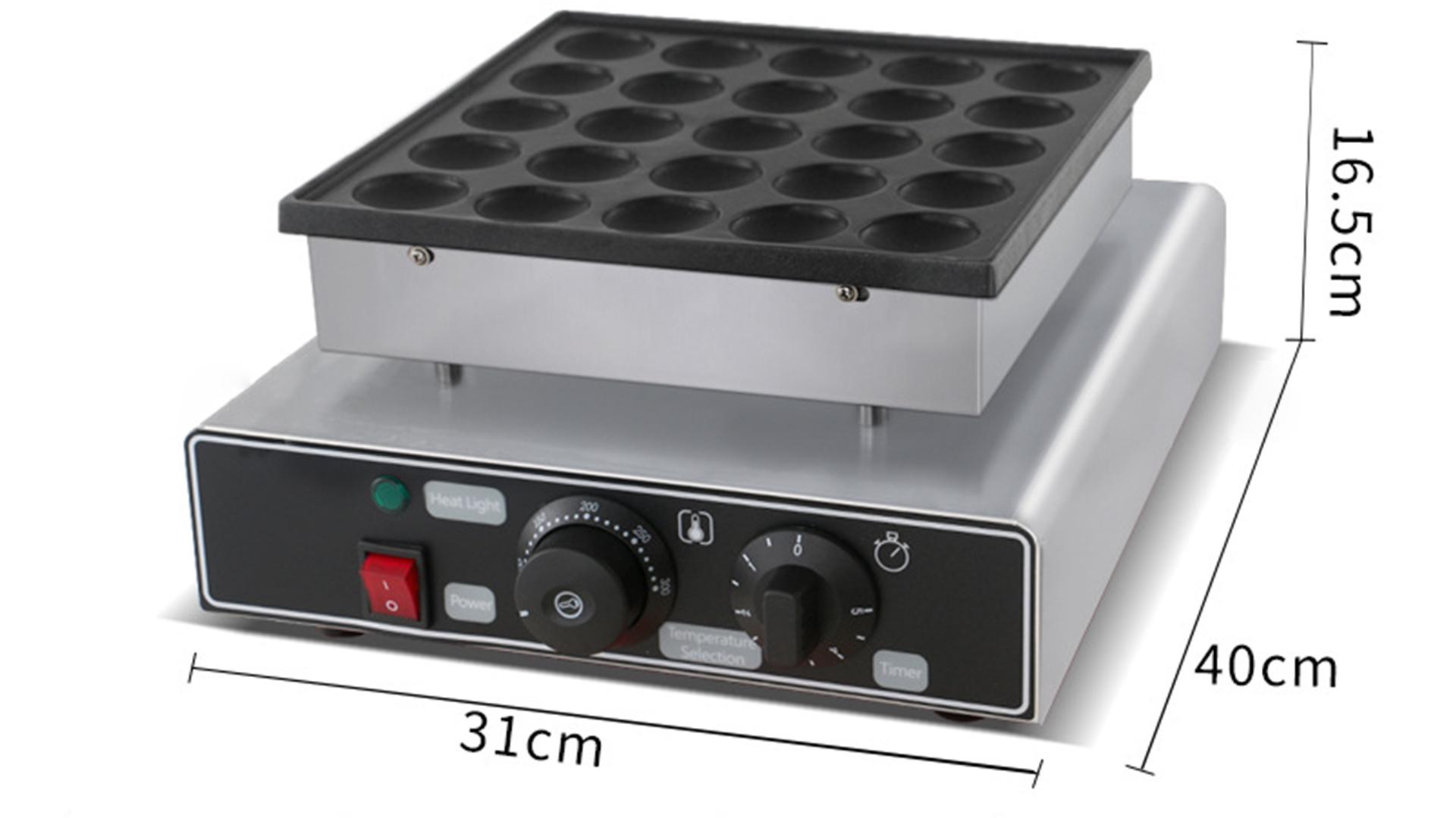 Benchu Muffin Maker FY-2240 Waffle Commerciale Forno Dorayaki Macchina 25 Foro Impiallacciatura Piccola Polpetta Forno per forno