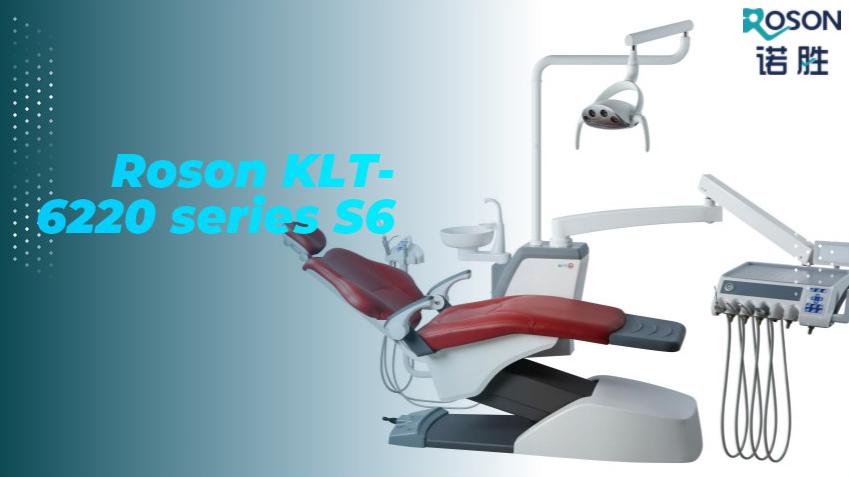 High quality dental unit Chair Roson KLT-6220 series S6