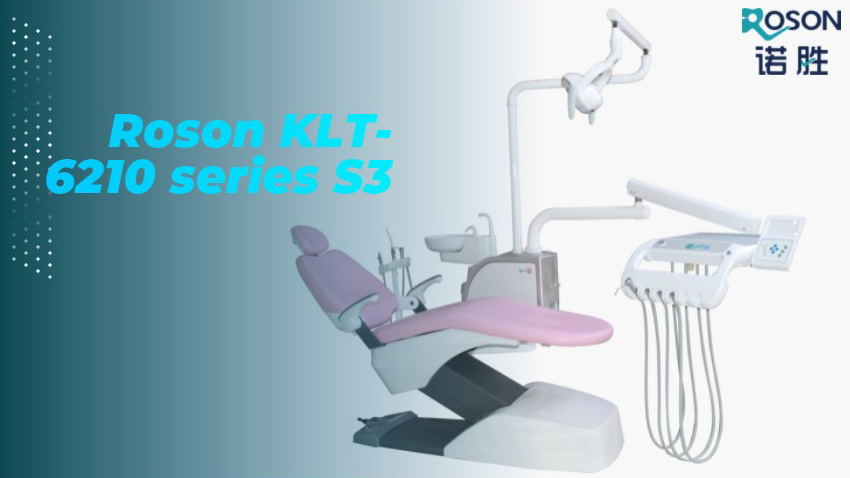 Latest Dental Unit Chair Roson KLT-6210 Series S3