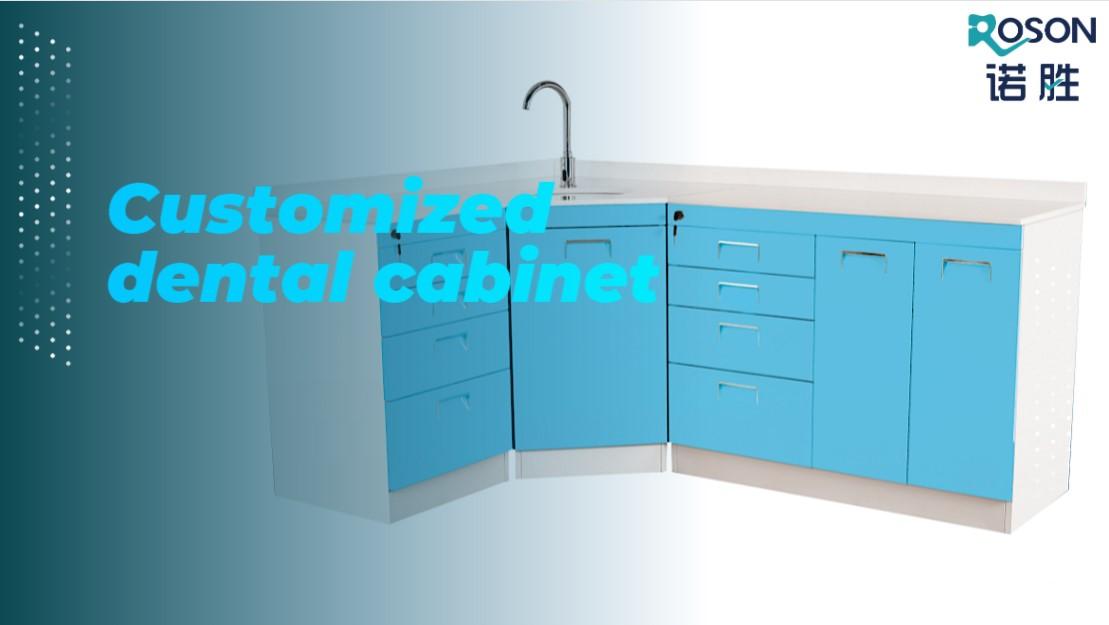 Customized dental dental cabinet