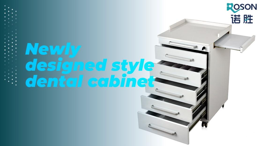 Newly designed style dental cabinet