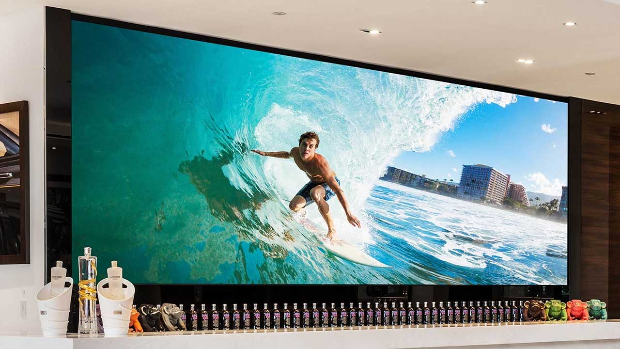 HD 2K 4K totally front service indoor LED video wall screen for meeting room broadcast room control room