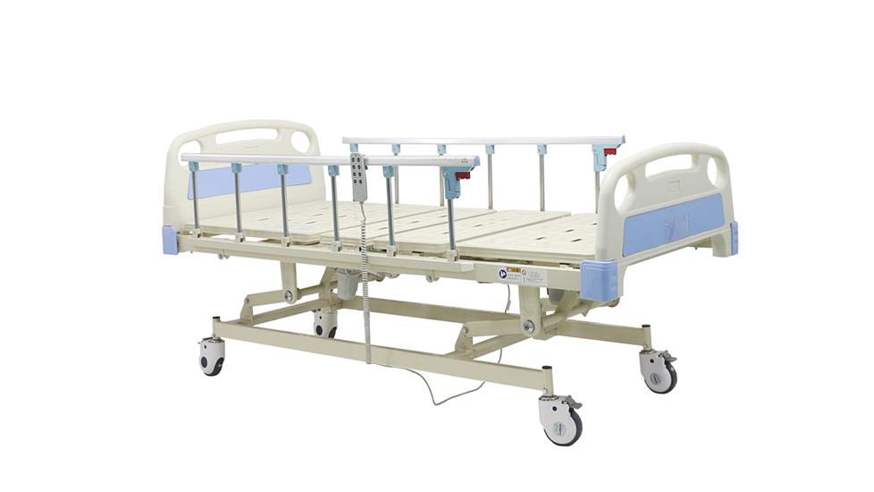 China Hoogte Verstelbare Drie Funksies Elektriese Mediese Bed Vervaardigers - Mecan Medical