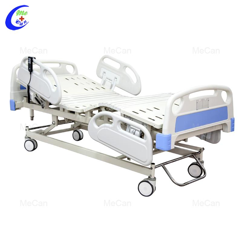 Beste Kwaliteit 3 Funksies Pasiënt Bed ABS Drie Funksie Elektriese Hospitaal Bed Factory