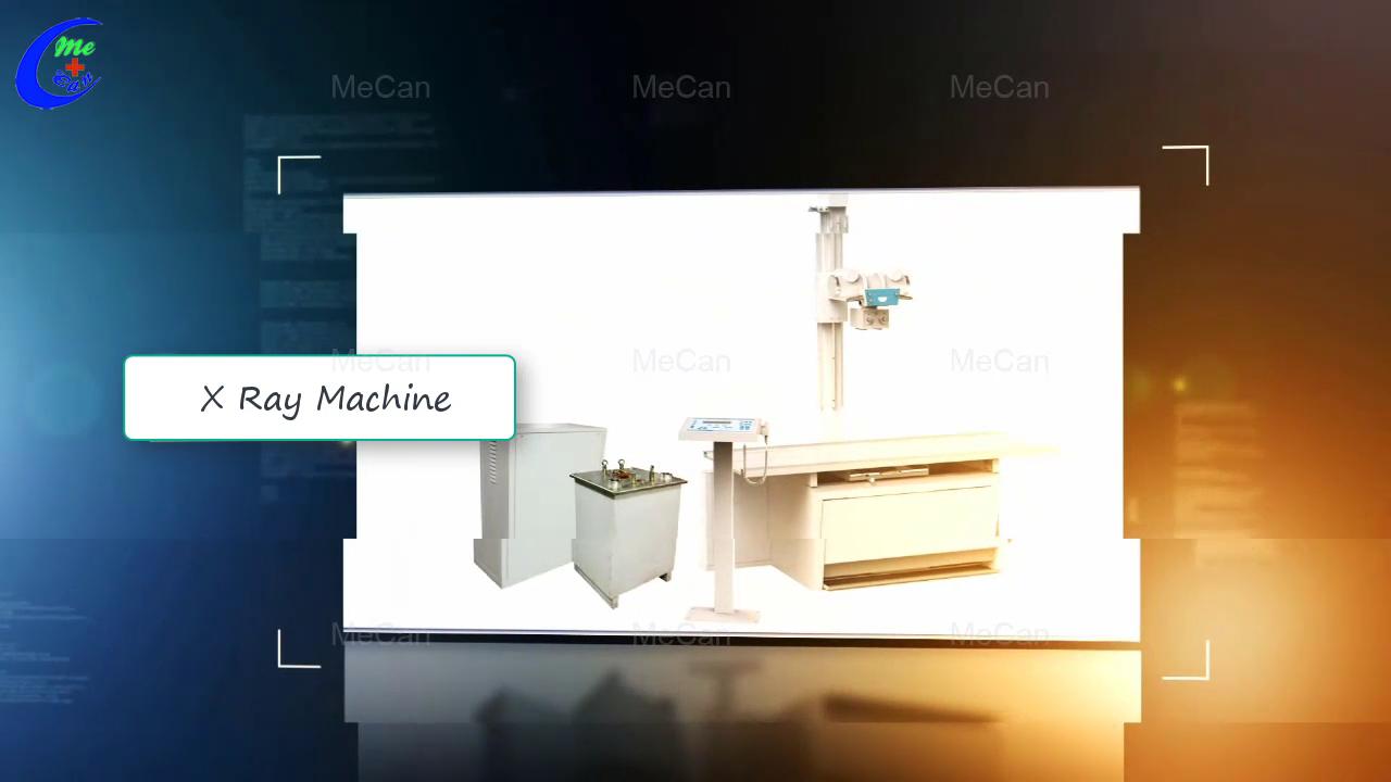 Beste Kwaliteit Mecan Mediese X Ray Machine Factory