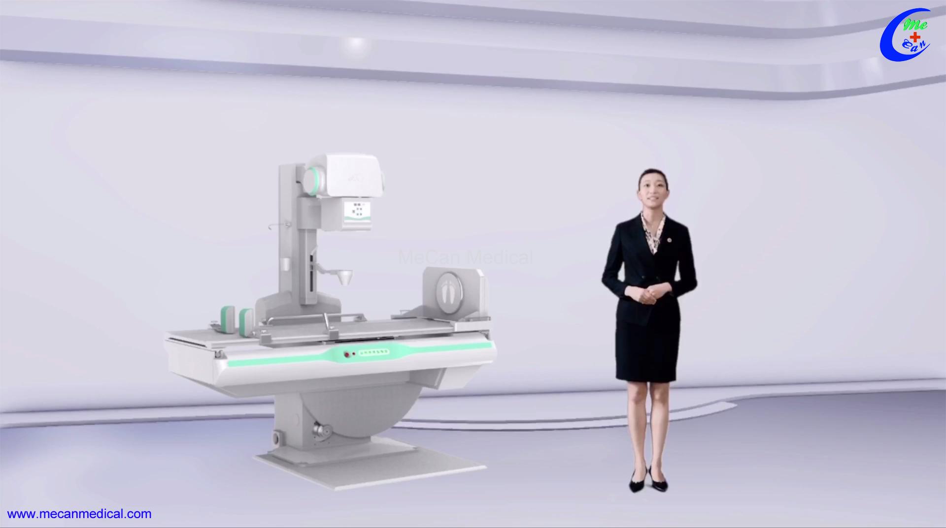 Professionele mediese dinamiese FPD DRF Digitale Radiografie X Ray Machine Vervaardigers