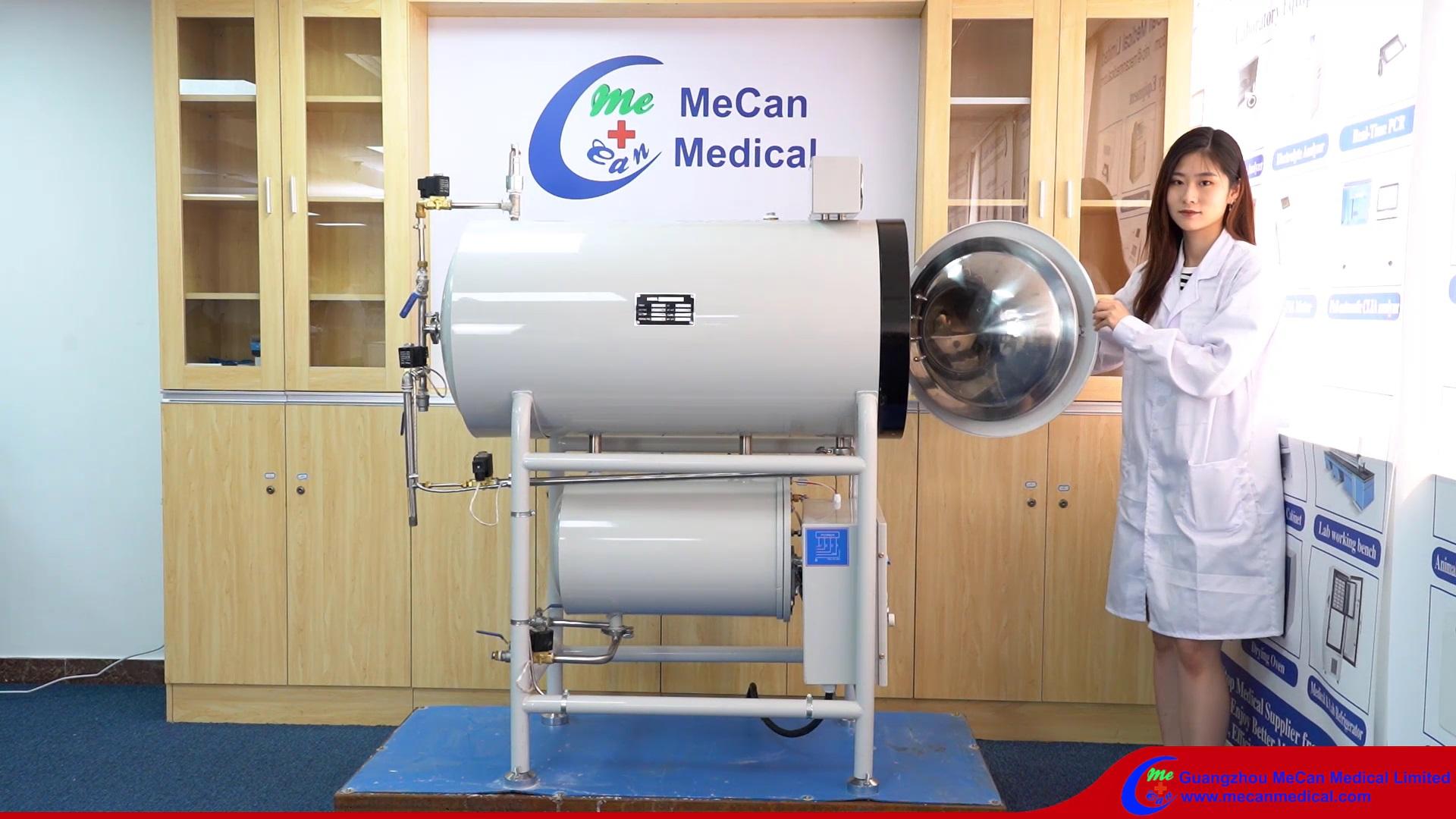 150L-500L Veliki visokotlačni autoklažni sterilizator za bolničke laboratorijske plantaže gljiva Mecan Medical
