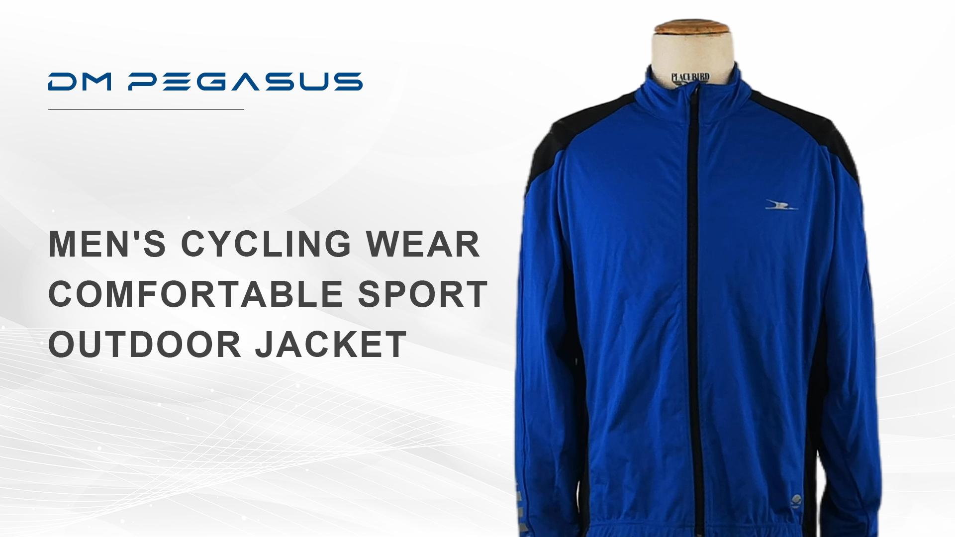 メンズサイクリングウェア快適なスポーツ屋外ジャケット