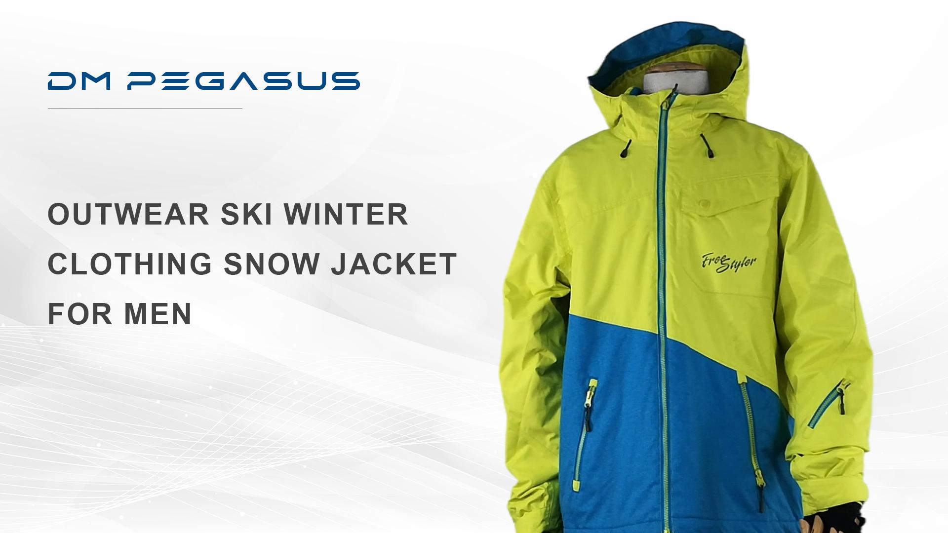 Outwear Ski Winter Clothing Snow Jacket For Men