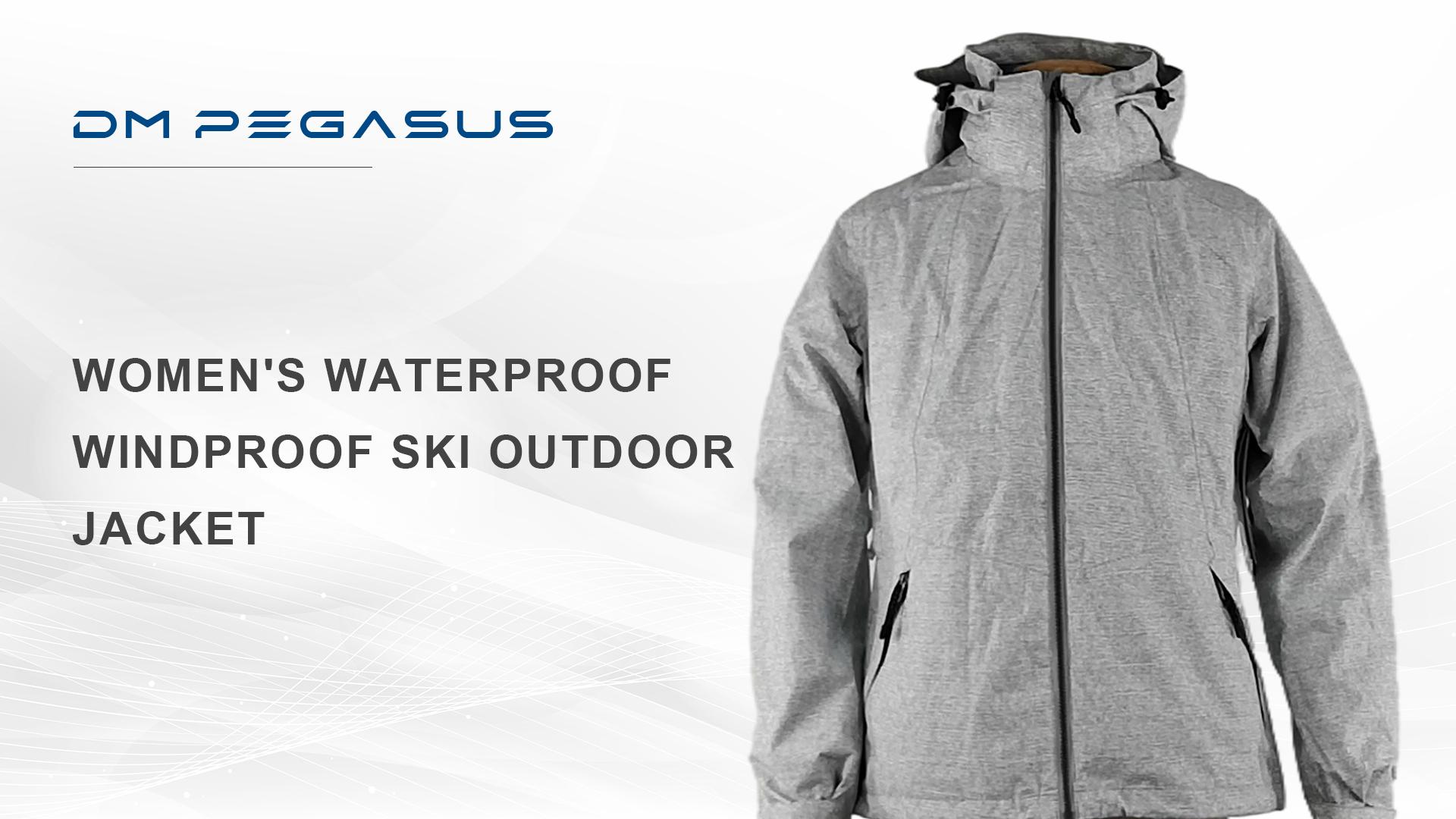 女性の防水防風のスキー屋外のジャケット