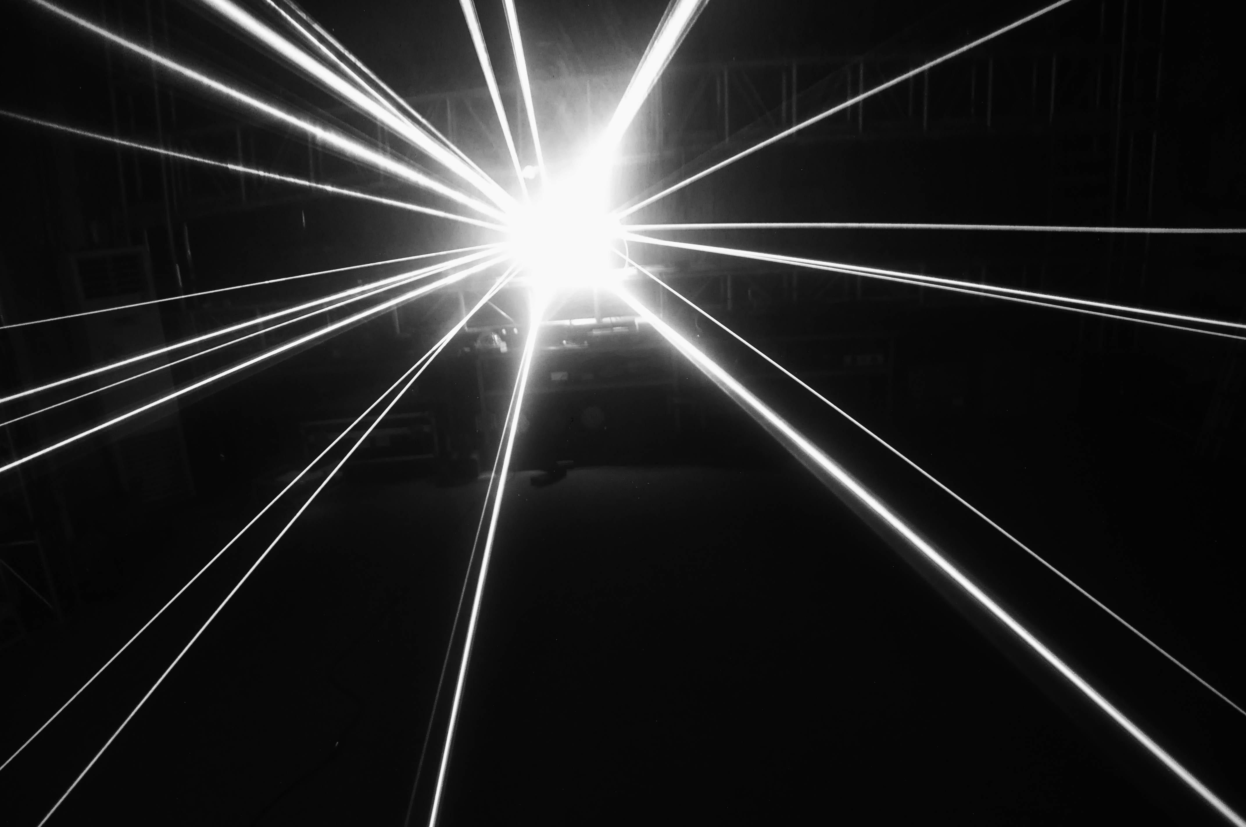Layu D900W 4 Head RVB Laser avec une grande zone de balayage