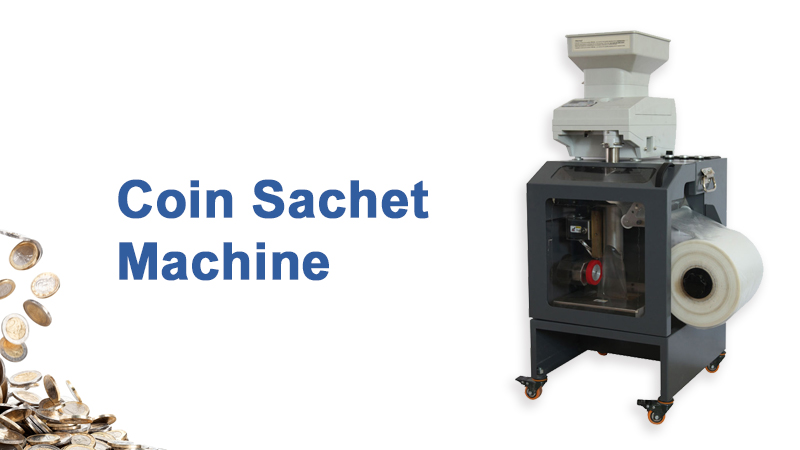 Best Quality Coin Sachet Machine with multisided coins