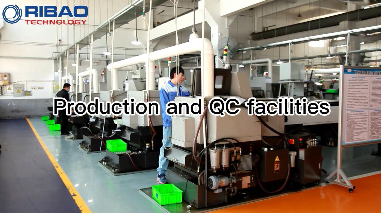 Παραγωγή και εγκαταστάσεις QC