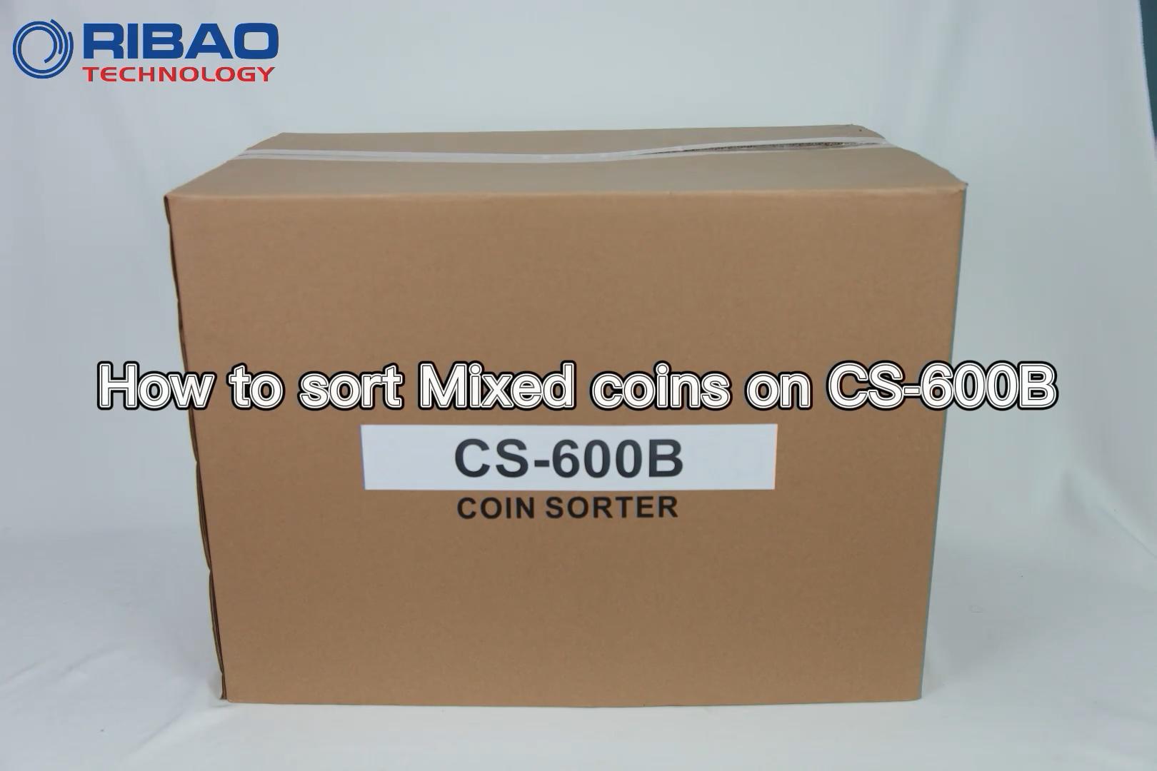 CS-600b'de karışık paralar nasıl sıralanır