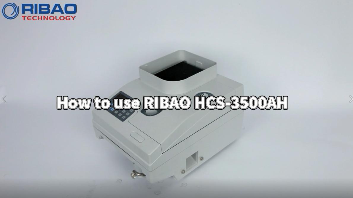 Как начать сверхмощный счетчик монет с моторизованным бункером HCS-3500AH