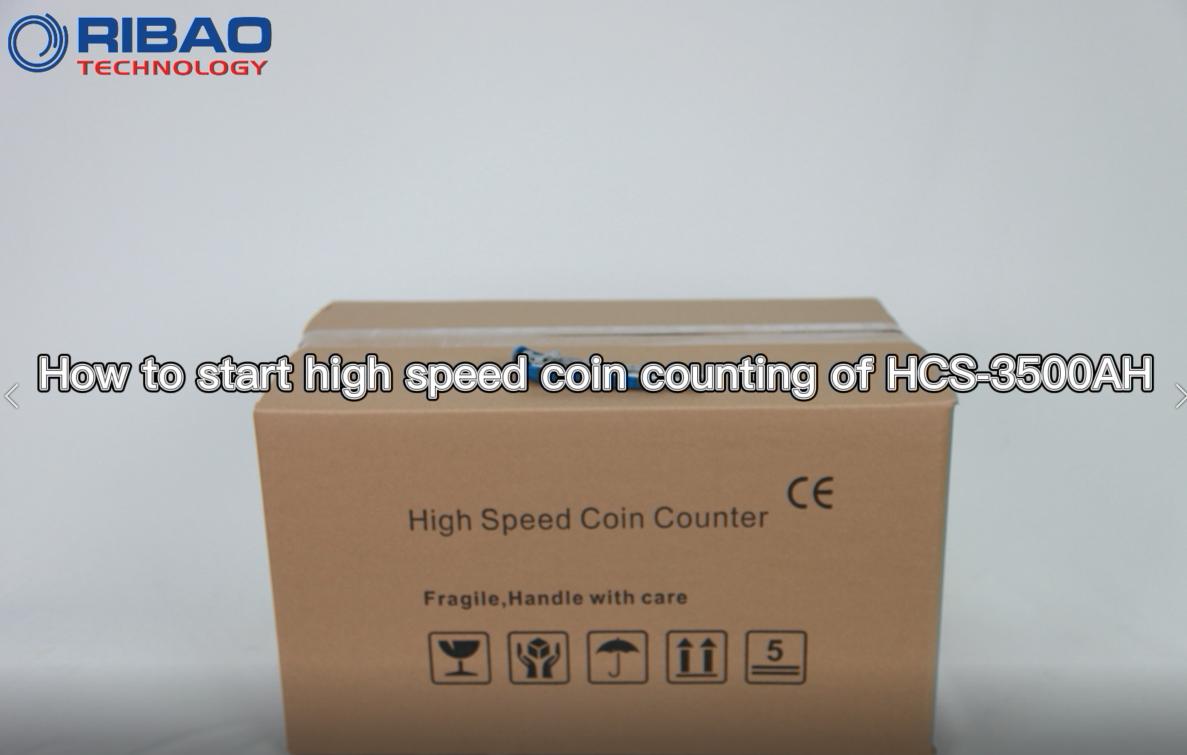 HCS-3500AH Coin Sayacı ve Sıralayıcının Hızlı Başlangıcı