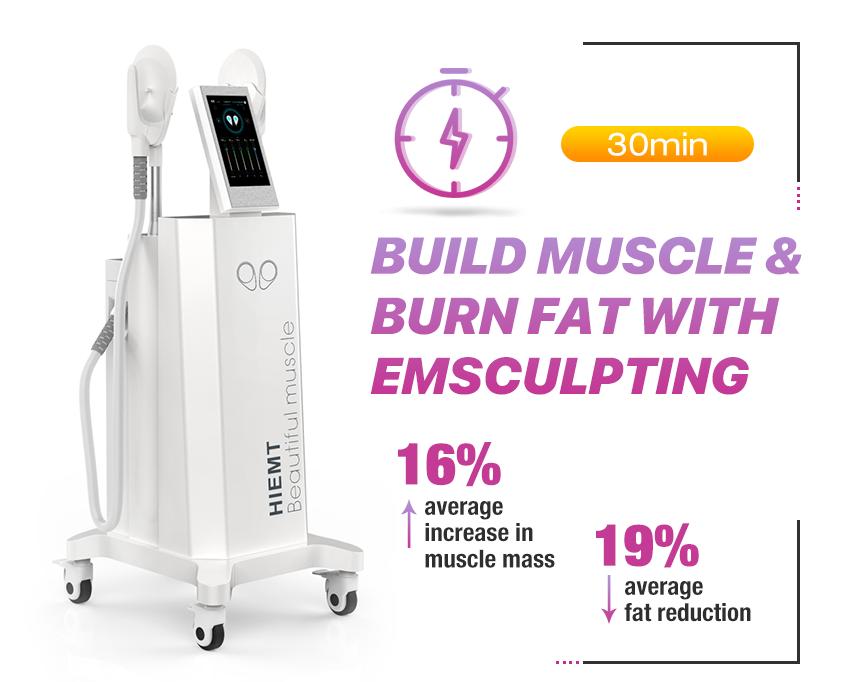 Aesmed Athmed Hiemt کاهش چربی و افزایش بدن عضلانی شکل دادن دستگاه لاغری