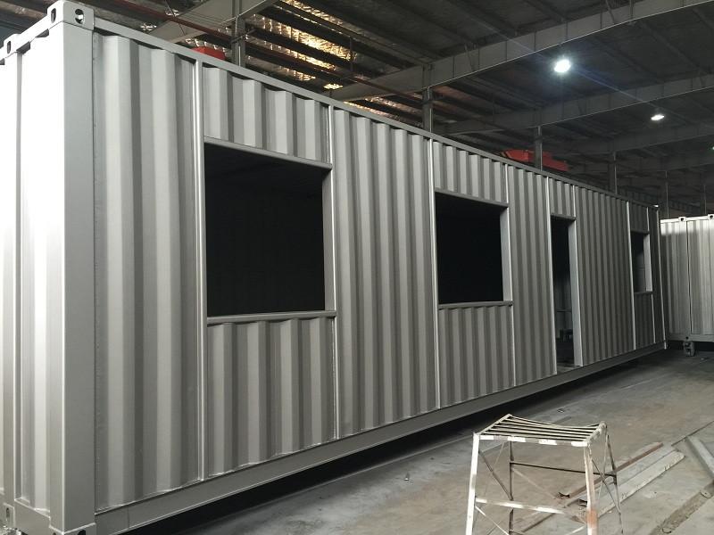 Kundenspezifische 12FTX40FT-Versand-Container-Haushersteller vonchina