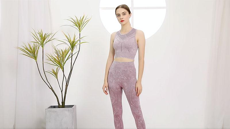 Meilleure costume de yoga de femme de femme d'OEM High-therchage Vêtements de vêtements de yoga respirants fabricant Company-Xike
