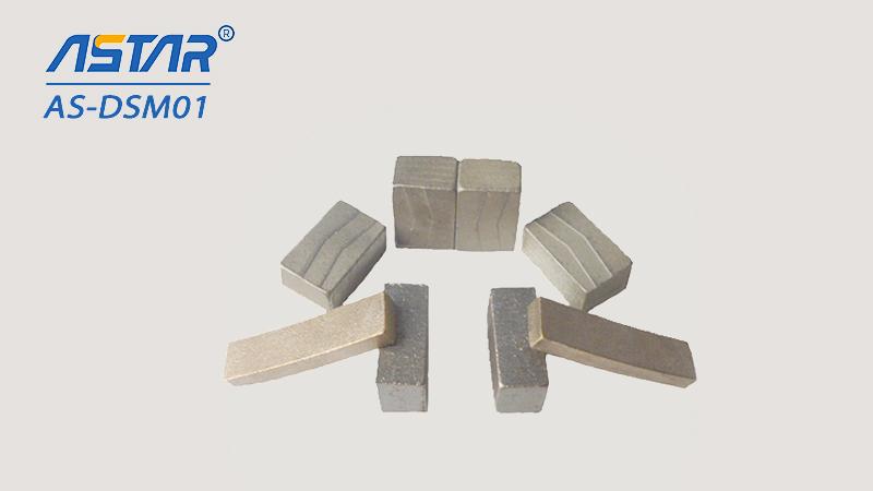 Granit kumtaşı kesme için elmas segmentler 300-3000mm
