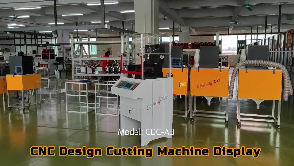 Hiển thị máy cắt thiết kế CNC | Cosmo laser.