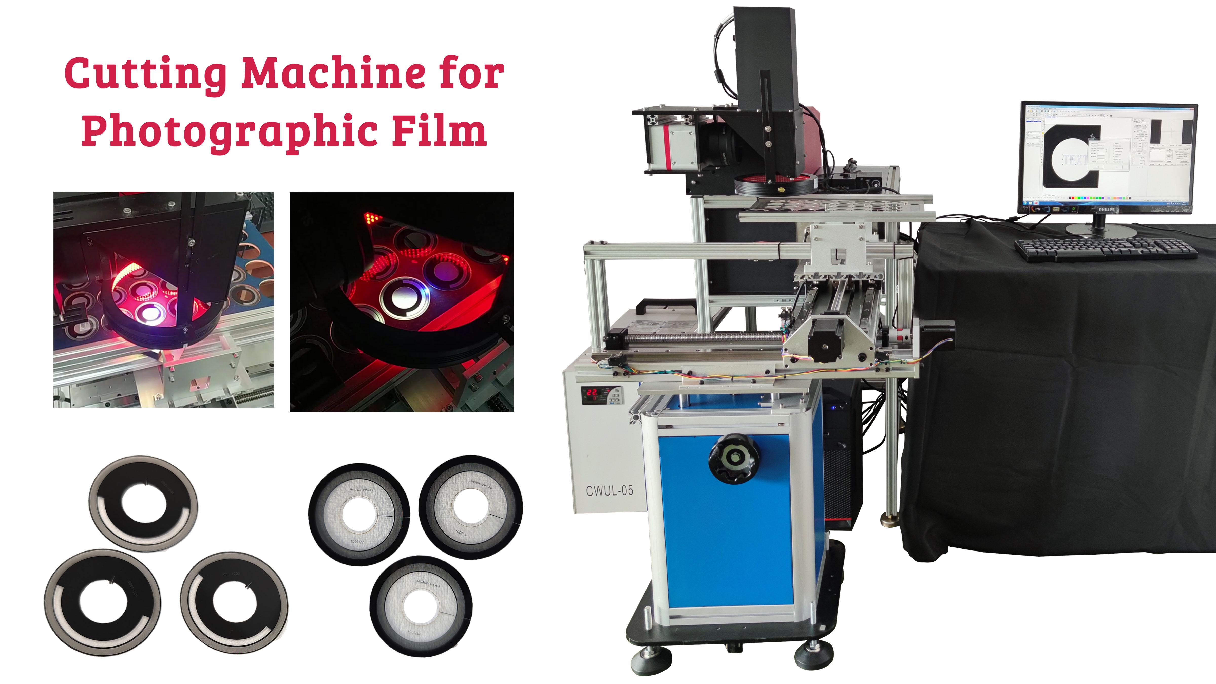 Fall der nicht standardmäßigen Maschinenanpassung | COSMO UV-Laserschneidmaschine für spezielle Kunststoff (fotografischer Film)