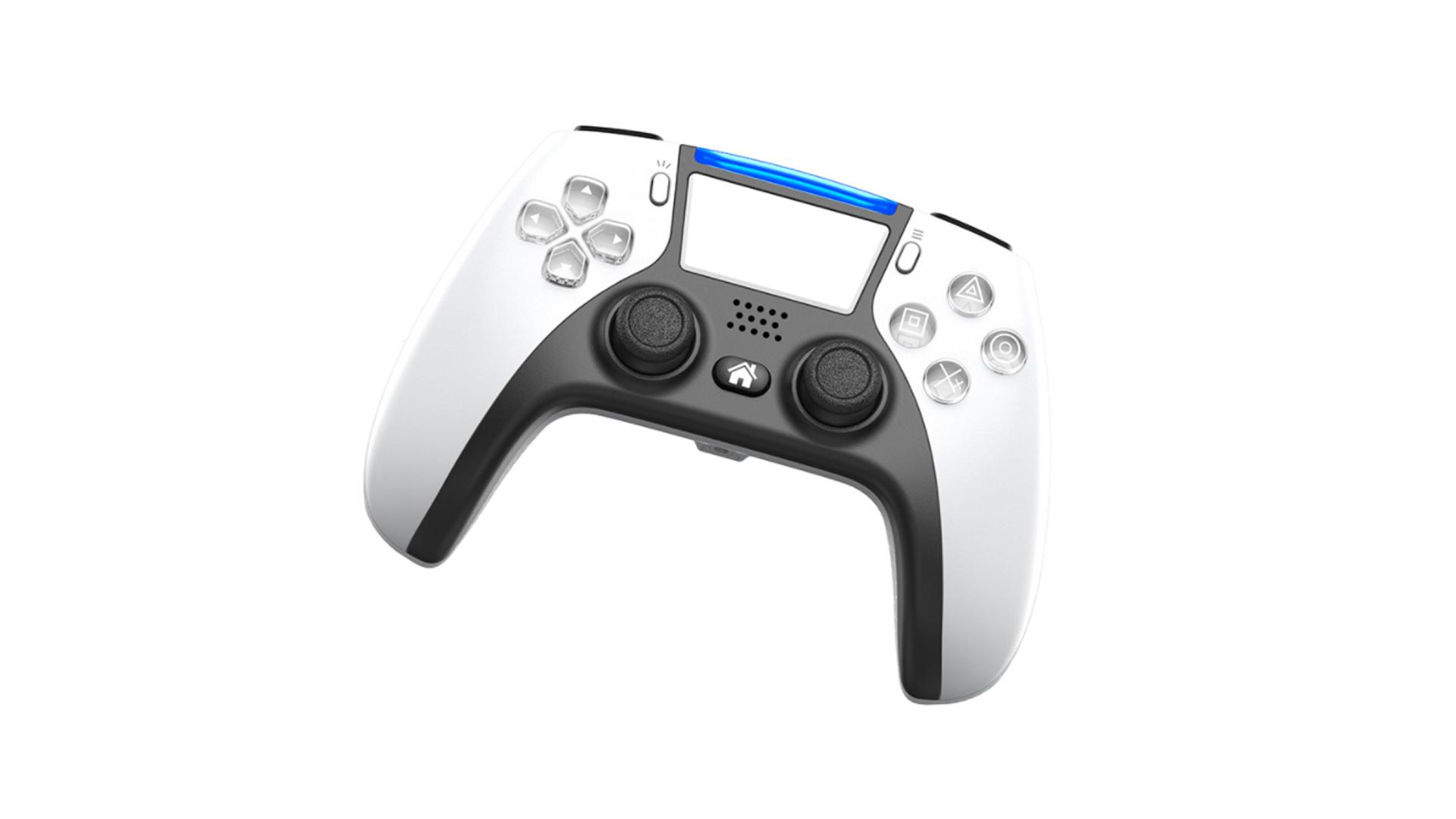 PS5 سبک بی سیم کنترل بازی جوی استیک پشتیبانی از کنسول بازی PS4