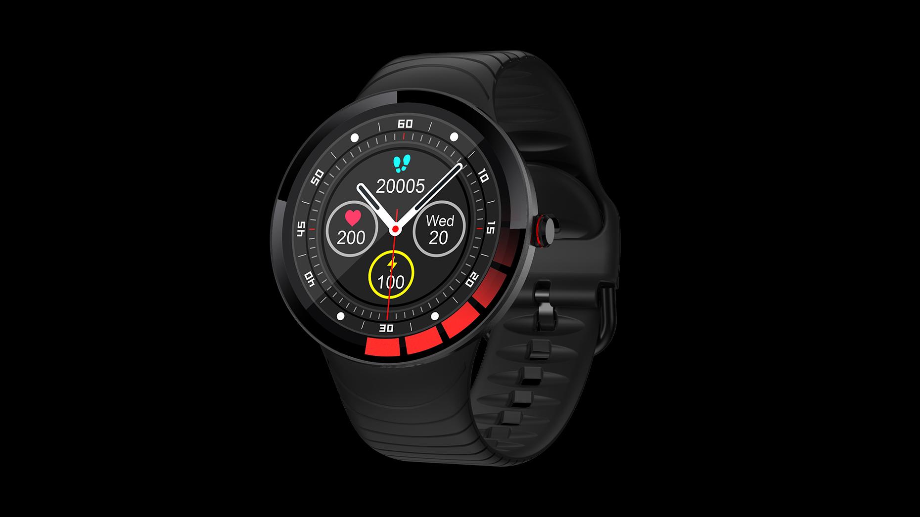 Smart Horloge Mannen IP68 Waterdicht Volledig Touchscreen Siliconen Strap Relogio SmartWatch voor Android IOS Sport Fitness Horloges E3