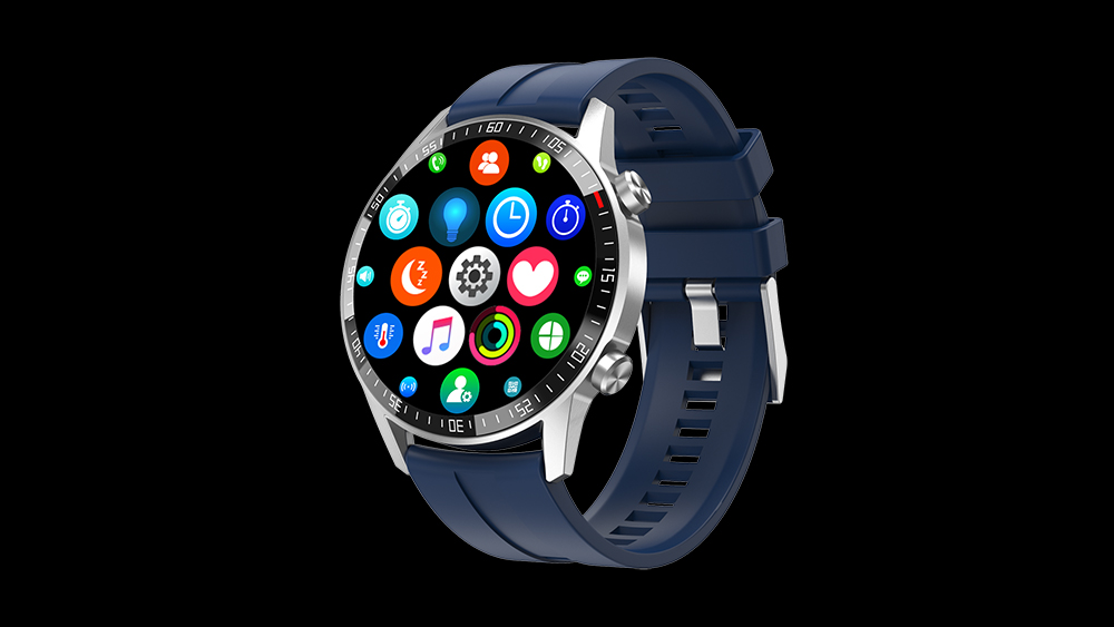 Music control heart rate blood pressure BT Calling Smartwatches Android IOS Sport Fitness Smart Watch Q88
