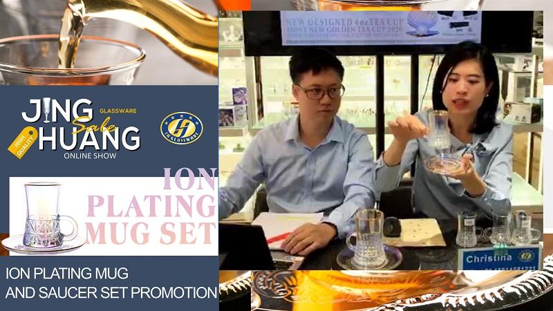 Live Show- Ion Plating Mug And Saucer Set Promotion