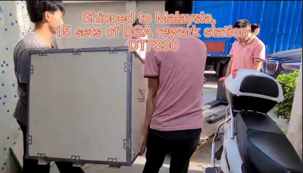 Dihantar ke Malaysia, 15 set BGA REWEWE STATION DTF330